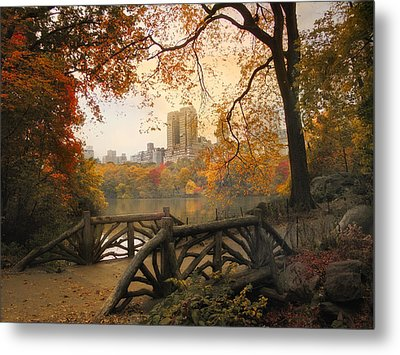 Metal Print featuring the photograph Rustic City View by Jessica Jenney