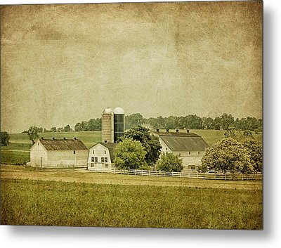 Rustic Farm - Barn Metal Print by Kim Hojnacki
