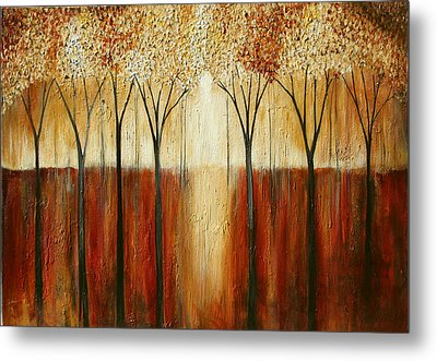 Rustic Forest Metal Print