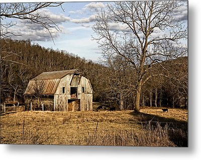 Metal Print featuring the photograph Rustic Hay Barn by Robert Camp