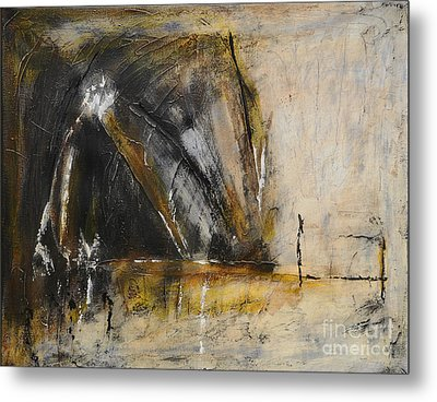 Rustic Interlude Metal Print