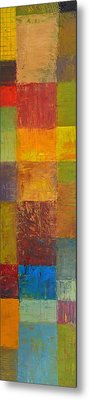Rustic Layers 2.0 Metal Print by Michelle Calkins
