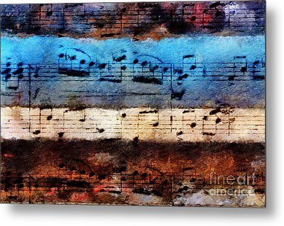 Rustic Rondo Metal Print by Lon Chaffin