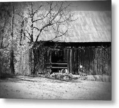 Rustic Tennessee Barn Metal Print by Phil Perkins