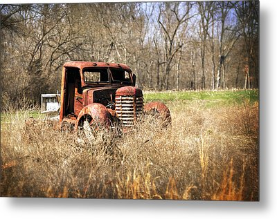 Rusting Away Metal Print by Marty Koch