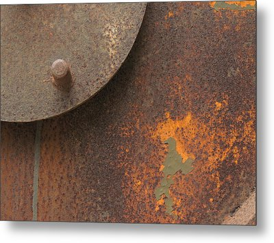 Rusty Abstraction Metal Print