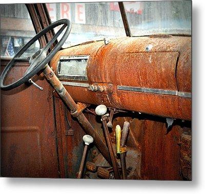 Rusty Interior Metal Print