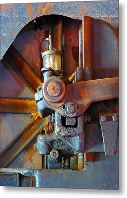 Rusty Machinery 2 Metal Print
