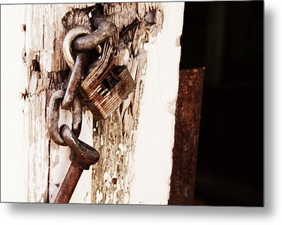 Rusty Metal Print by Michele Richter
