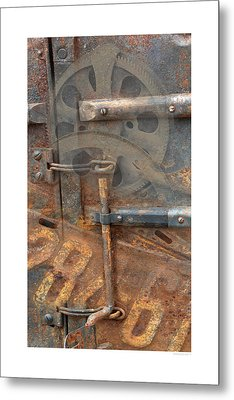 Metal Print featuring the photograph Rusty Stuff Montage by Bob Salo