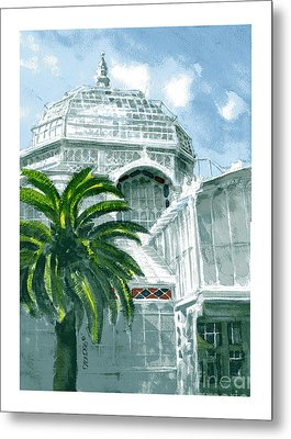 Sf Conservatory Metal Print