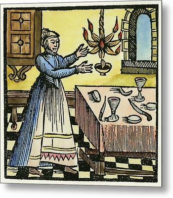 Sabbath Preparations, 1663 Metal Print