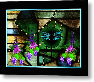 Metal Print featuring the digital art Sacred Garden by Mary Anne Ritchie