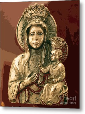 Sacred Icon Metal Print by Patricia Januszkiewicz