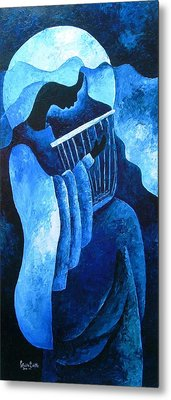 Sacred Melody Metal Print by Patricia Brintle