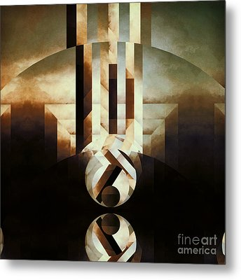 Sacred Reality Metal Print by Lonnie Christopher