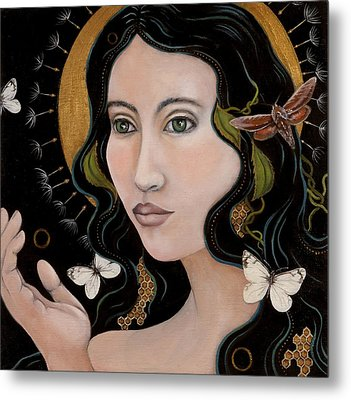 Metal Print featuring the painting Sacred by Sheri Howe