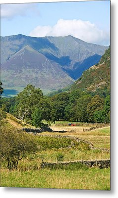 Metal Print featuring the photograph Saddleback Mountain by Jane McIlroy
