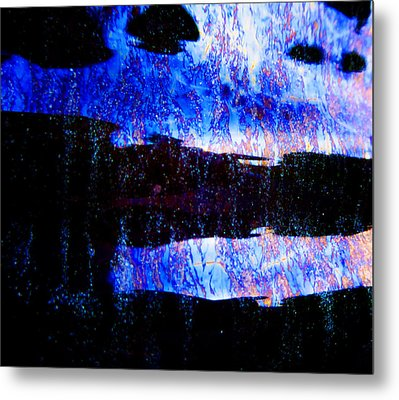 Sadness Metal Print by Laurie Tsemak