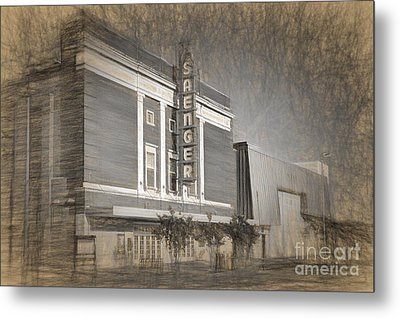 Saenger Theater Biloxi Metal Print by Joan McCool