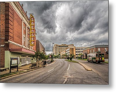 Saenger Theater Metal Print by Brian Wright