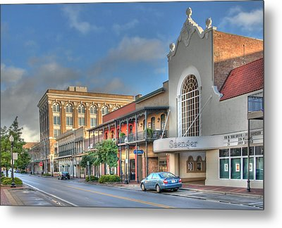 Saenger Theater Metal Print