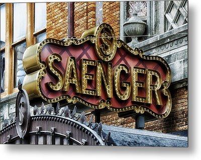 Saenger Theatre - Mobile Alabama Metal Print by Mountain Dreams