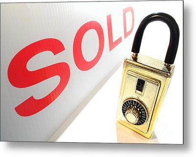 Safe And Sold Metal Print by Olivier Le Queinec