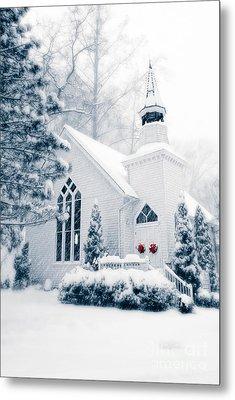 Historic Church Oella Maryland Usa Metal Print