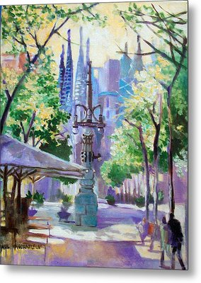 Sagarda Familia Barcelona Metal Print by Paul Weerasekera
