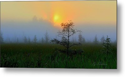 Metal Print featuring the photograph Saginaw Sunrise by Gregory Israelson