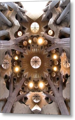 Sagrada Familia Metal Print by Jennifer Wheatley Wolf