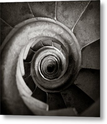 Sagrada Familia Steps Metal Print by Dave Bowman