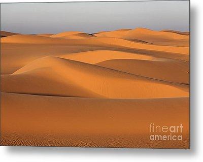 Sahara Desert Dunes Metal Print by Robert Preston