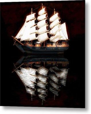 Metal Print featuring the photograph Sail Away by Aaron Berg