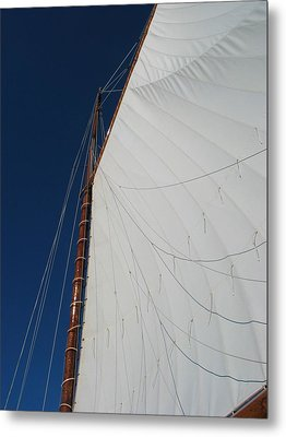 Sail Away With Me Metal Print by Photographic Arts And Design Studio