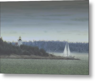 Sail On Metal Print