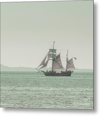 Sail Ship 2 Metal Print by Lucid Mood