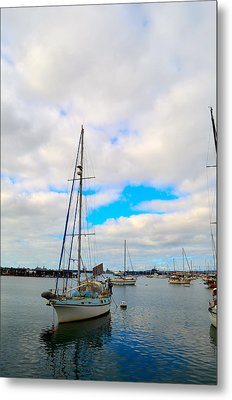 Sail With Me Metal Print