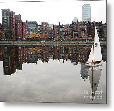 Sail With Me Metal Print by Susan Hernandez