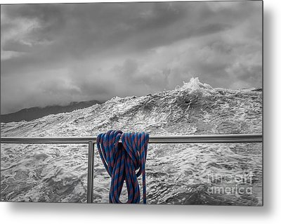 Metal Print featuring the photograph Sailing Around South West Cape Of Tasmania by Jola Martysz