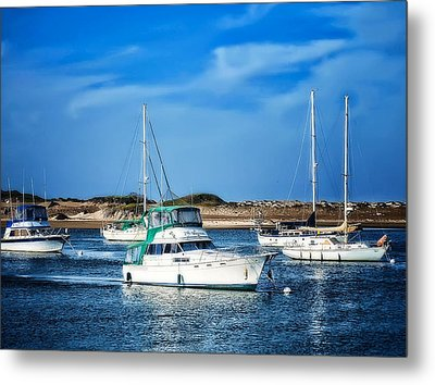 Sailing Metal Print by Camille Lopez