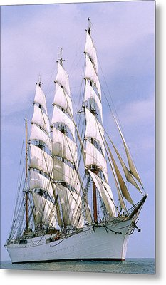 Sailing Ship Metal Print