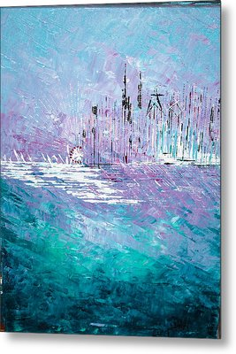 Sailing South - Sold Metal Print
