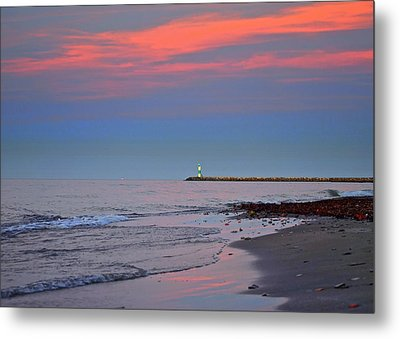 Sailors Guide Metal Print by Frozen in Time Fine Art Photography