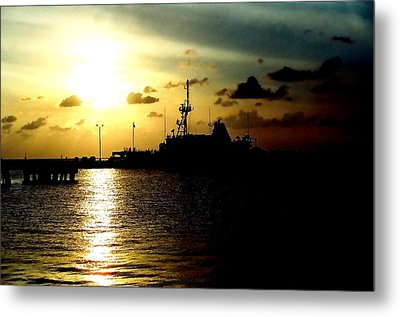 Sailors Morning Metal Print by Amy Sorrell