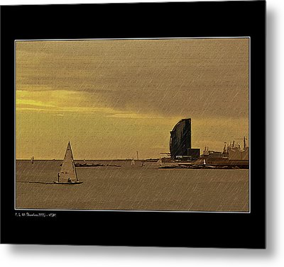 Metal Print featuring the photograph Sails by Pedro L Gili