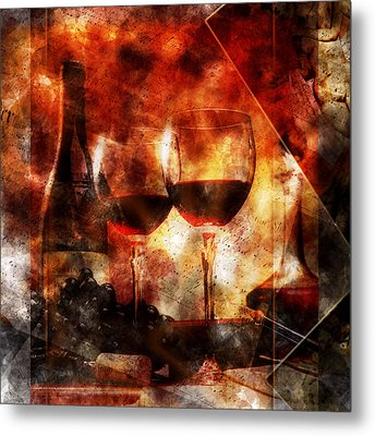Saint Amour Metal Print
