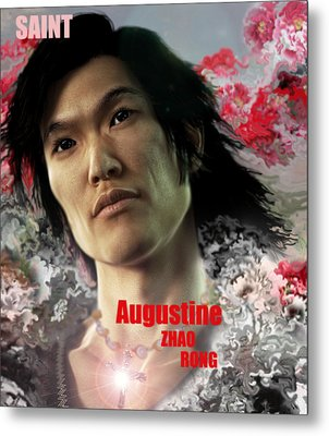 Saint Augustine Zhao Rong  Metal Print by Suzanne Silvir