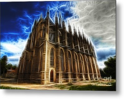 Saint Barbara Church Kutna Hora Metal Print